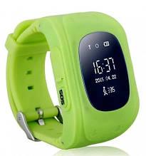 Смарт часы Smart Baby Watch Q50 с GPS Зеленый