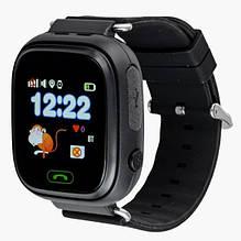 Смарт часы Smart Baby Watch Q90 с GPS Черный