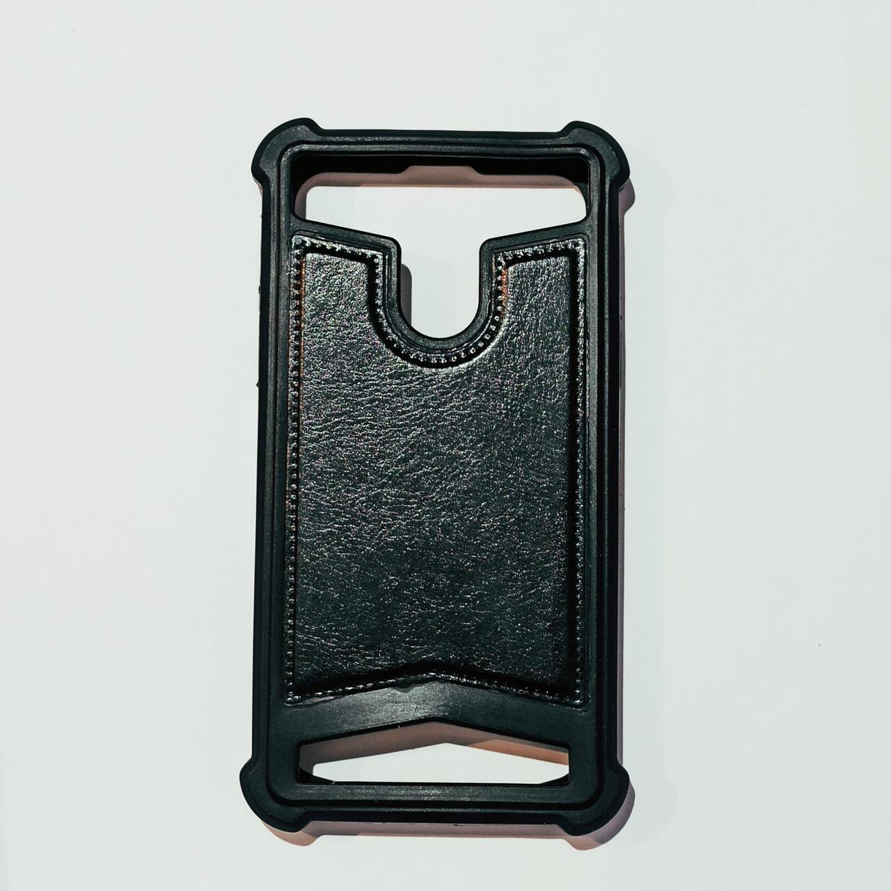 Бампер универсальный для телефона 5,5 дюймов Черный