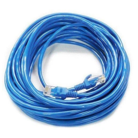 LAN интернет кабель 10 метров Синий