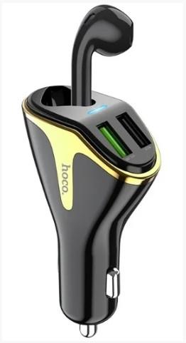 Bluetooth гарнитура Hoco E47 Traveller Черный
