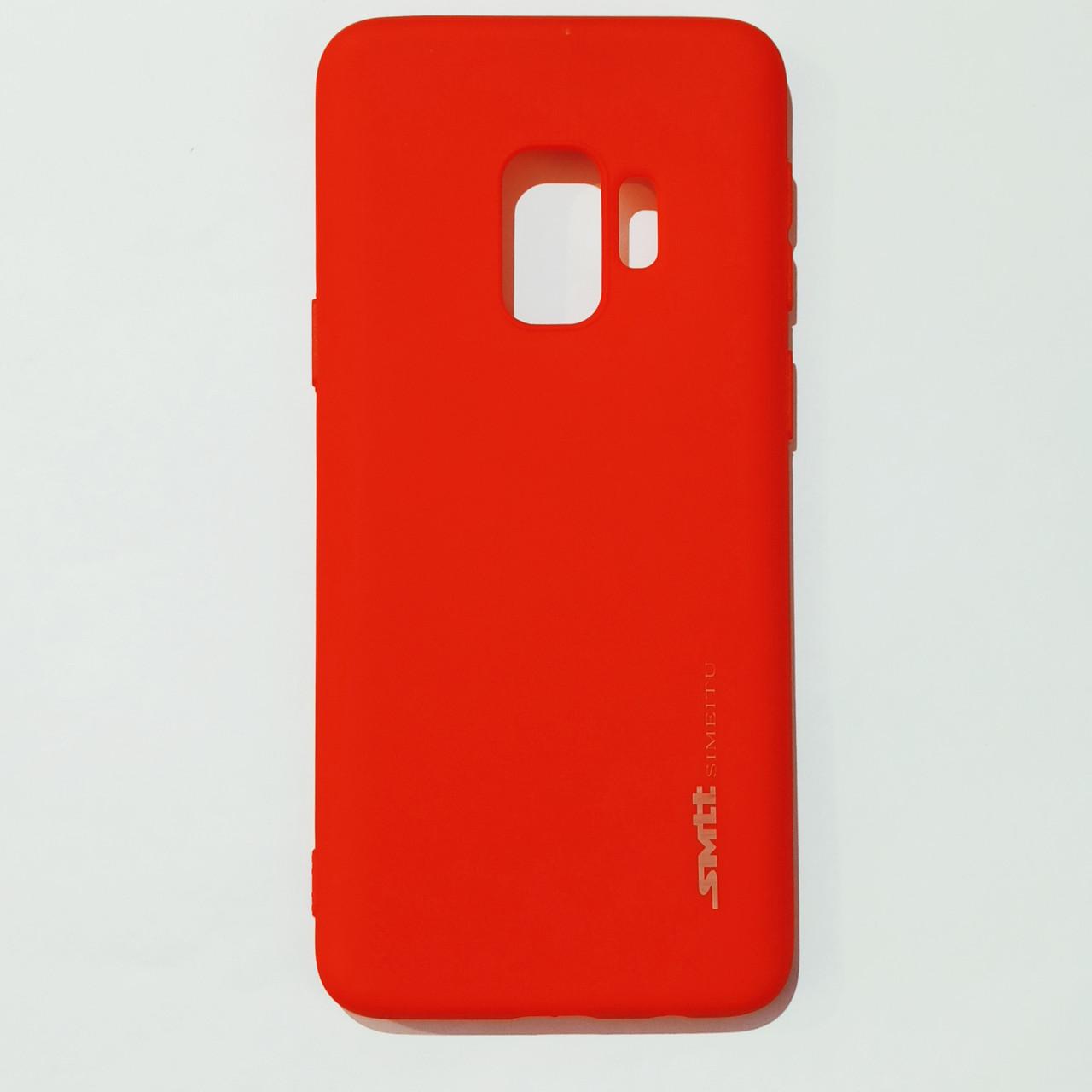 Бампер для Samsung S9 Smit Червоний