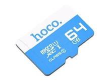 Карта памяти micro SD Hoco 64GB Class 10 Синий