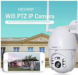 Wi-Fi IP PTZ купольная камера INQMEGA 2 MPIX Белый, фото 7