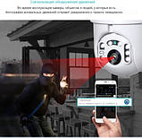 Wi-Fi IP PTZ купольная камера INQMEGA 2 MPIX Белый, фото 3