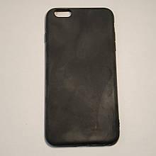 Бампер для iPhone 6/6S Plus силиконовый Черный
