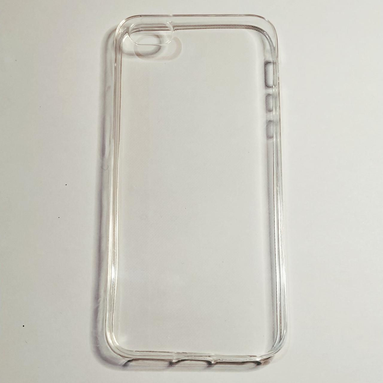 Бампер для iPhone 5/5S/5SE Прозорий силіконовий