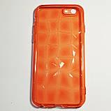 Бампер для iPhone 6/6S граненный Красный, фото 2
