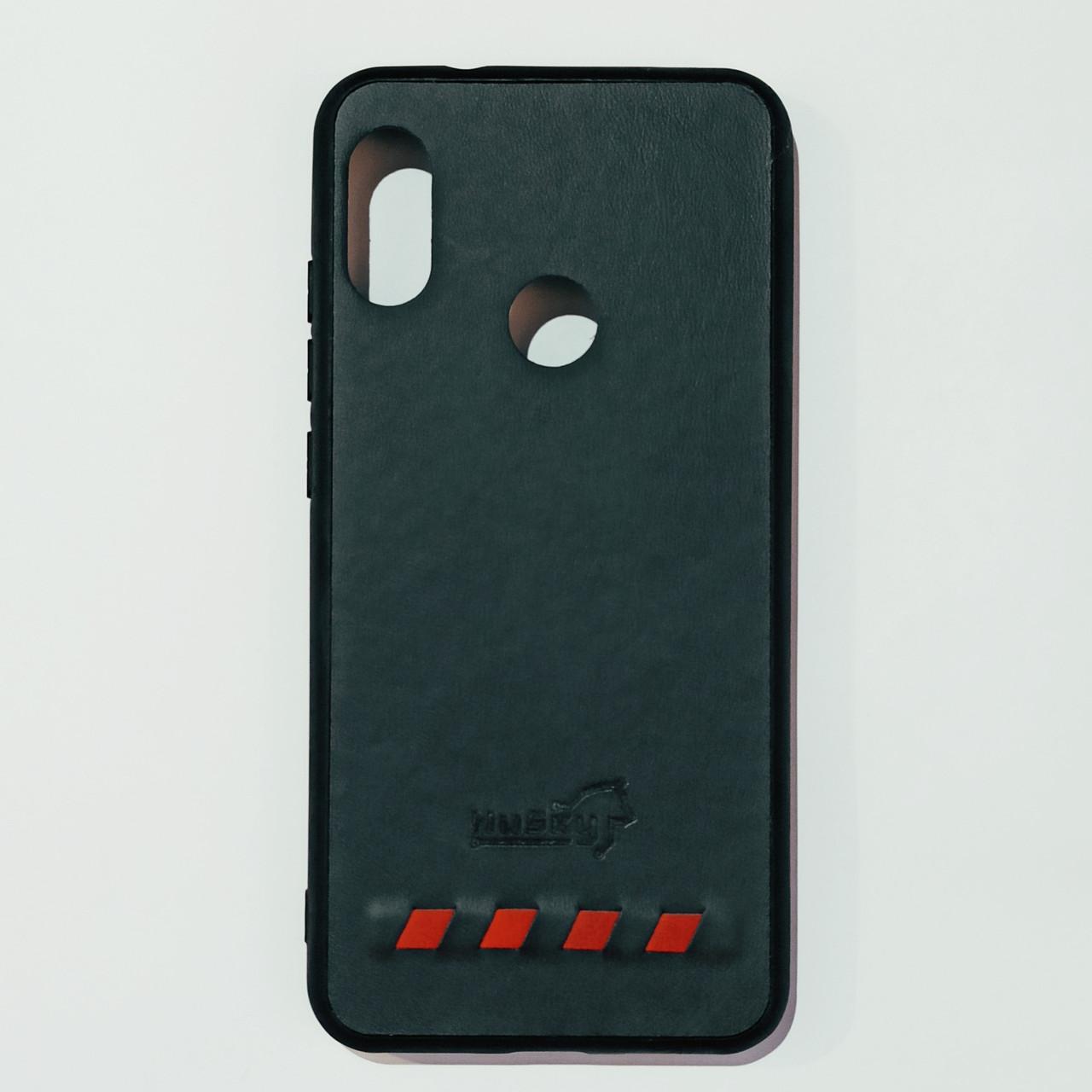 Бампер для Xiaomi A2 Lite, Redmi 6 Pro Черно-Синий