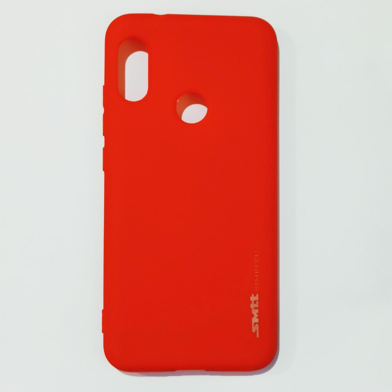 Бампер для Xiaomi A2 Lite, Redmi 6 Pro Smit Червоний