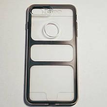 Бампер двухсторонний для iPhone 7/7S Plus 360 Full Прозрачный