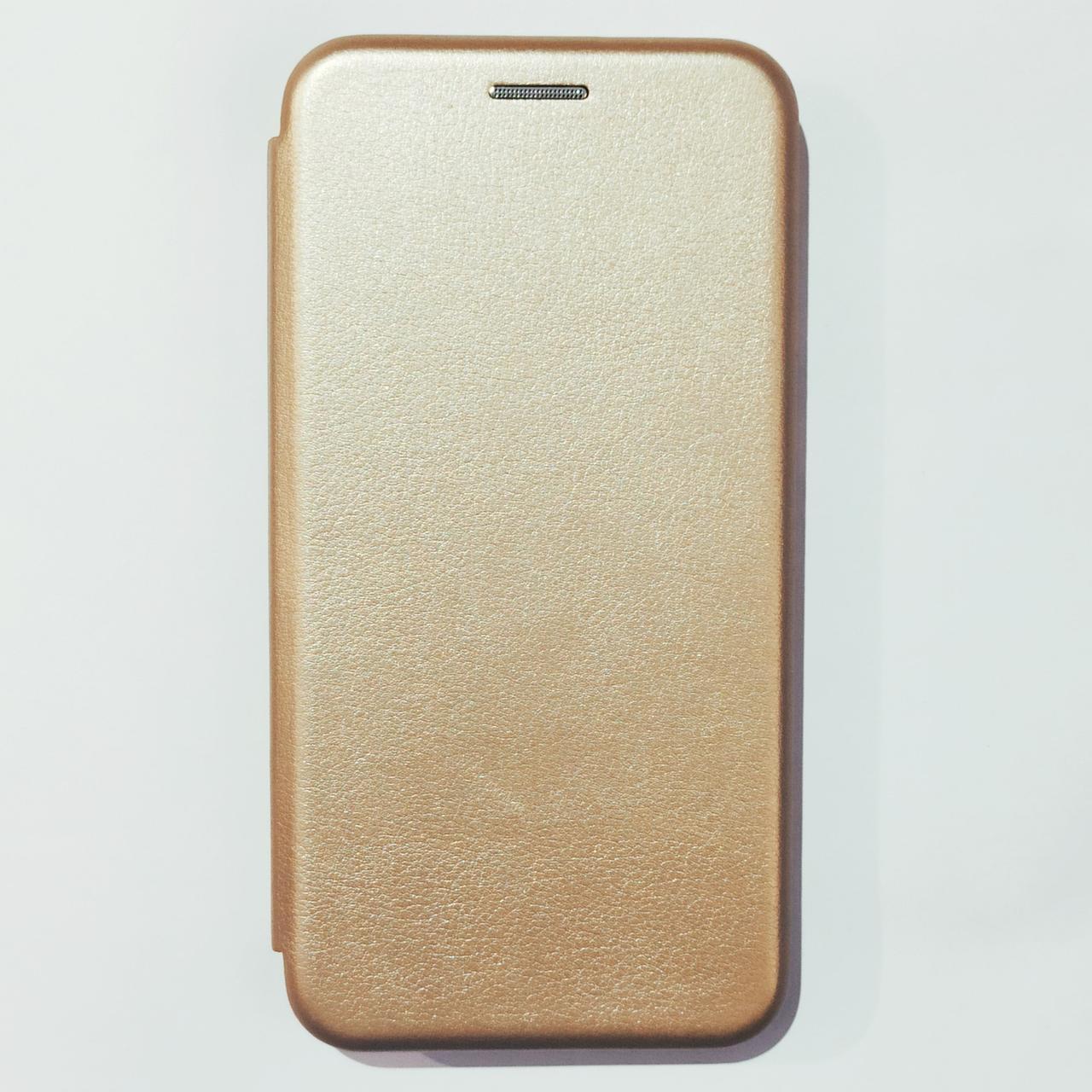 Чохол-книжка для Xiaomi Redmi Go Золотий