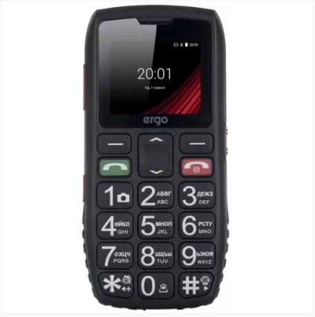 Телефон Ergo F184 Respect Black