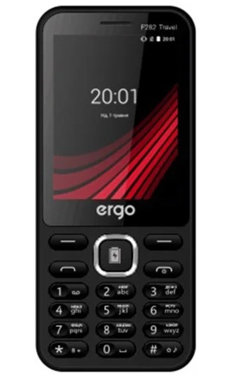 Телефон Ergo F282 Travel Black