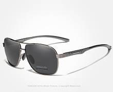 Солнцезащитные очки Kingseven Черно-Серый