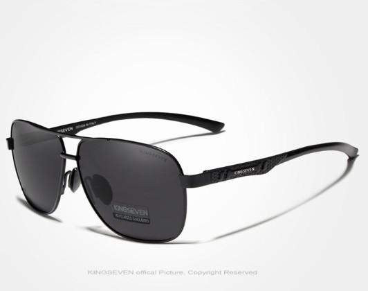 Cолнцезащитные очки Kingseven Черный