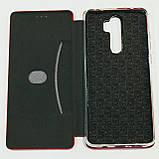 Чехол-книжка Fashion для Xiaomi Redmi Note 8 Pro Красный, фото 3