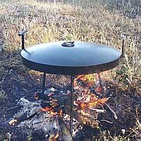 Сковорода из диска бороны 40см + крышка + Лопатка в Подарок