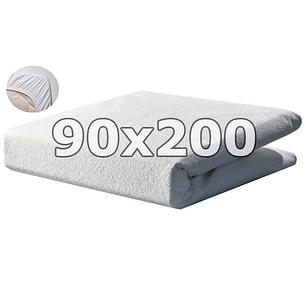 Непромокаемый махровый наматрасник с бортами - 90х200, фото 2