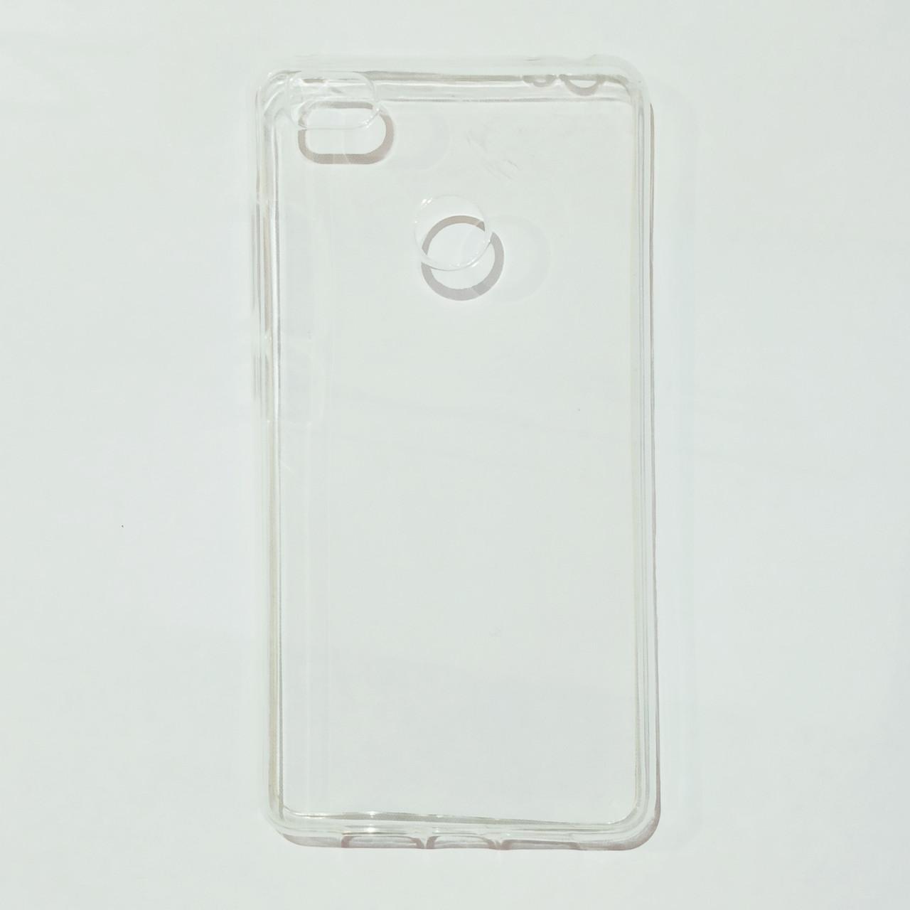 Бампер для Xiaomi Redmi 4S Прозрачный