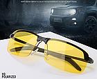 Очки для вождения поляризованные / С ПОЛЯРИЗАЦИЕЙ в открытой оправе с регулируемыми носовыми упорами - ЧЁРНЫЕ, фото 2