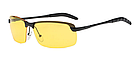 Очки для вождения поляризованные / С ПОЛЯРИЗАЦИЕЙ в открытой оправе с регулируемыми носовыми упорами - ЧЁРНЫЕ, фото 5