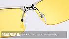 Очки для вождения поляризованные / С ПОЛЯРИЗАЦИЕЙ в открытой оправе с регулируемыми носовыми упорами - ЧЁРНЫЕ, фото 7