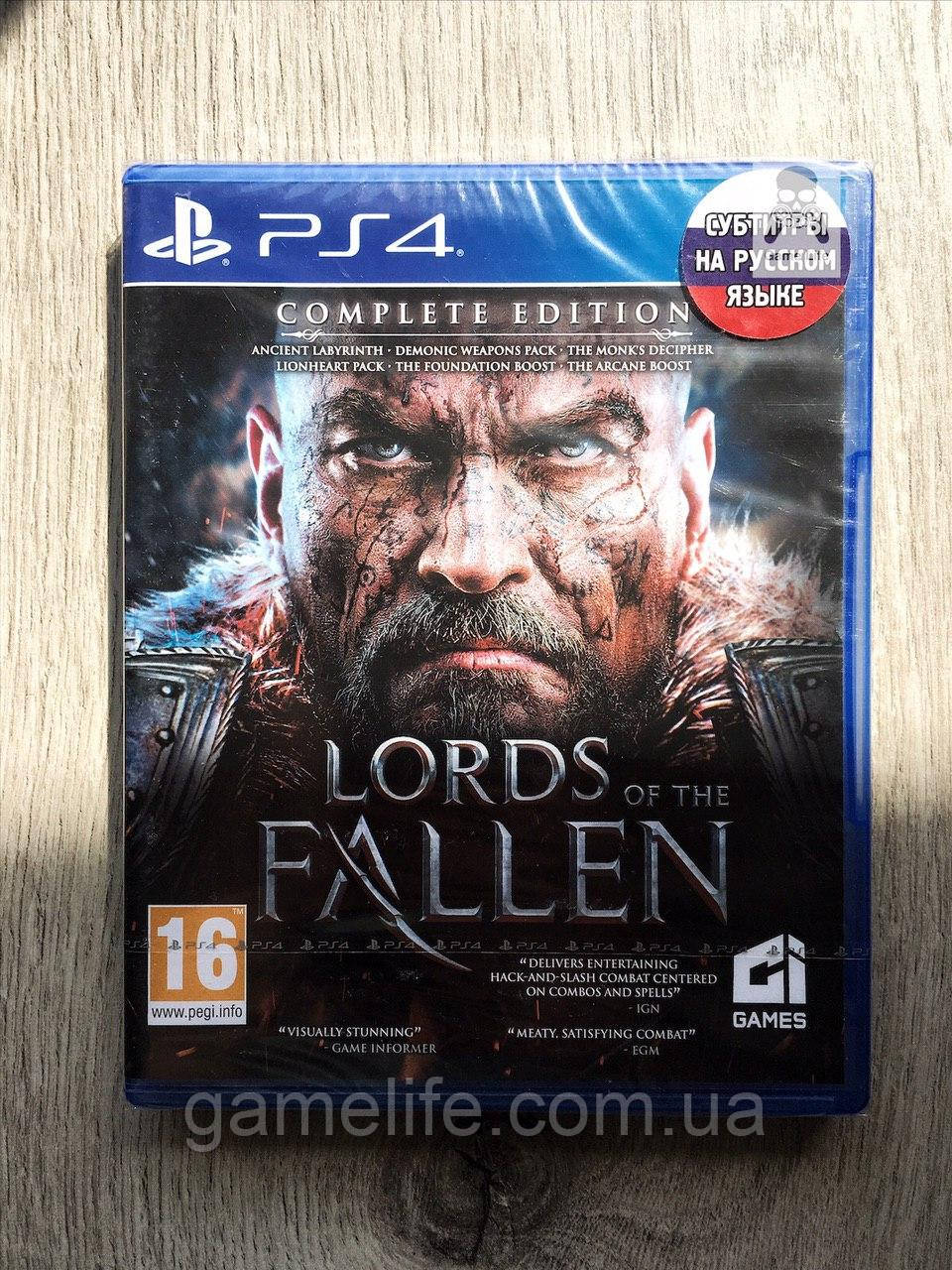 Lords of the Fallen Complete Edition (новый) (рус. суб.) PS4