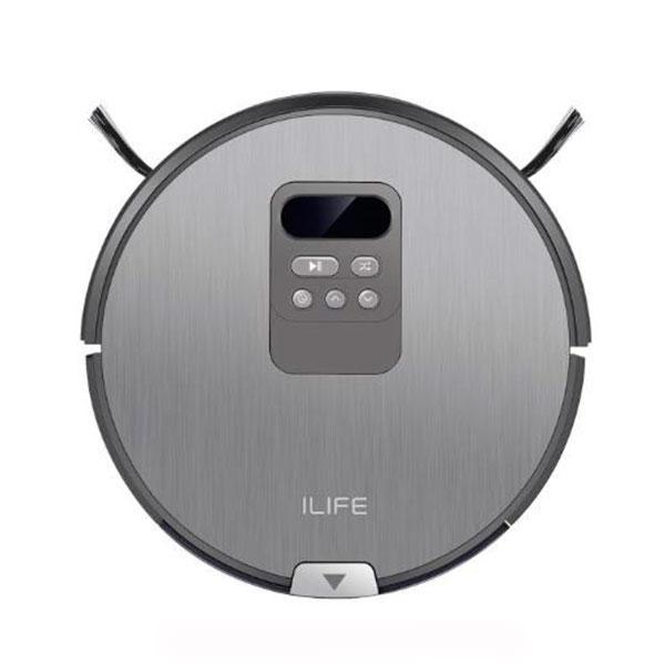 Робот-пылесос ILIFE V80 Iron Grey