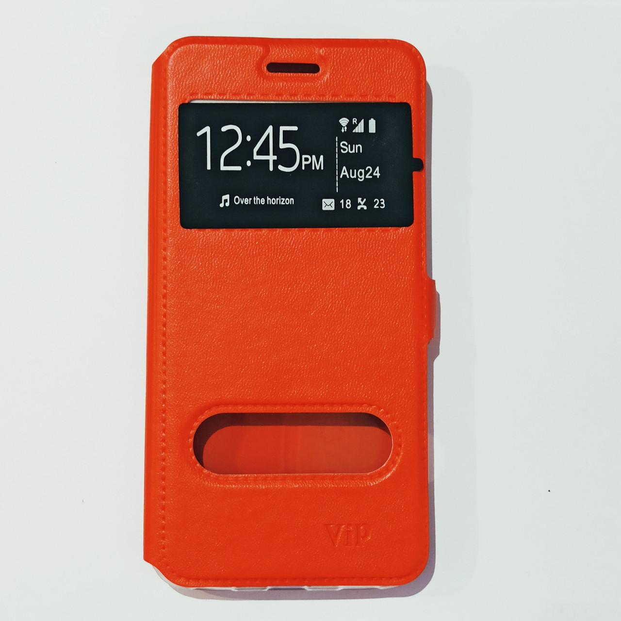 Чохол-книжка для Meizu M6 Червоний