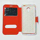 Чохол-книжка для Meizu M2 Червоний, фото 2