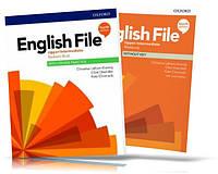 English File Fourth Edition Upper-Intermediate Student's book + Workbook / Учебник + Тетрадь английского язык