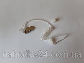Гарнитура Air A01 2-х проводная скрытого ношения с прозрачным воздуховодом для радиостанций Baofeng и Kenwood, фото 2