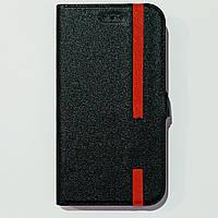 Чехол-книжка универсальный 4,8-5,0 дюйма Черный