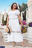 Стильное платье  (размеры 48-66) 0248-92, фото 2