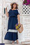 Стильное платье  (размеры 48-66) 0248-92, фото 3