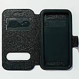 Чохол-книжка універсальний 4,3-4,8 дюйма Чорний, фото 2