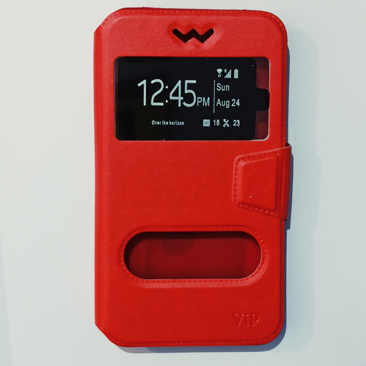 Чехол-книжка универсальный 5,0-5,5 дюйма Красный