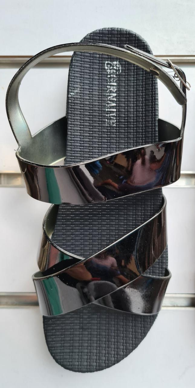Женские сандалии неон
