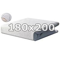 Непромокаемый махровый наматрасник с бортами - 180х200