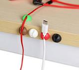 Фиксатор кабелей с двухсторонним скотчем Черный, фото 2