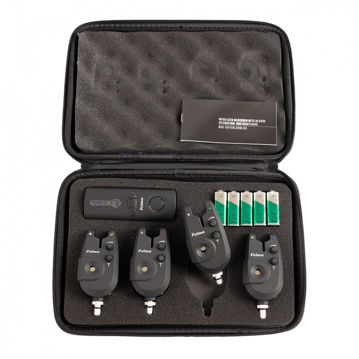 Набір сигналізаторів покльовки Feima FA02-4, 4+1