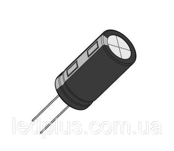 470мкФ 25В 105С конденсатор електролітичний