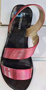 Женские сандалии без защелки
