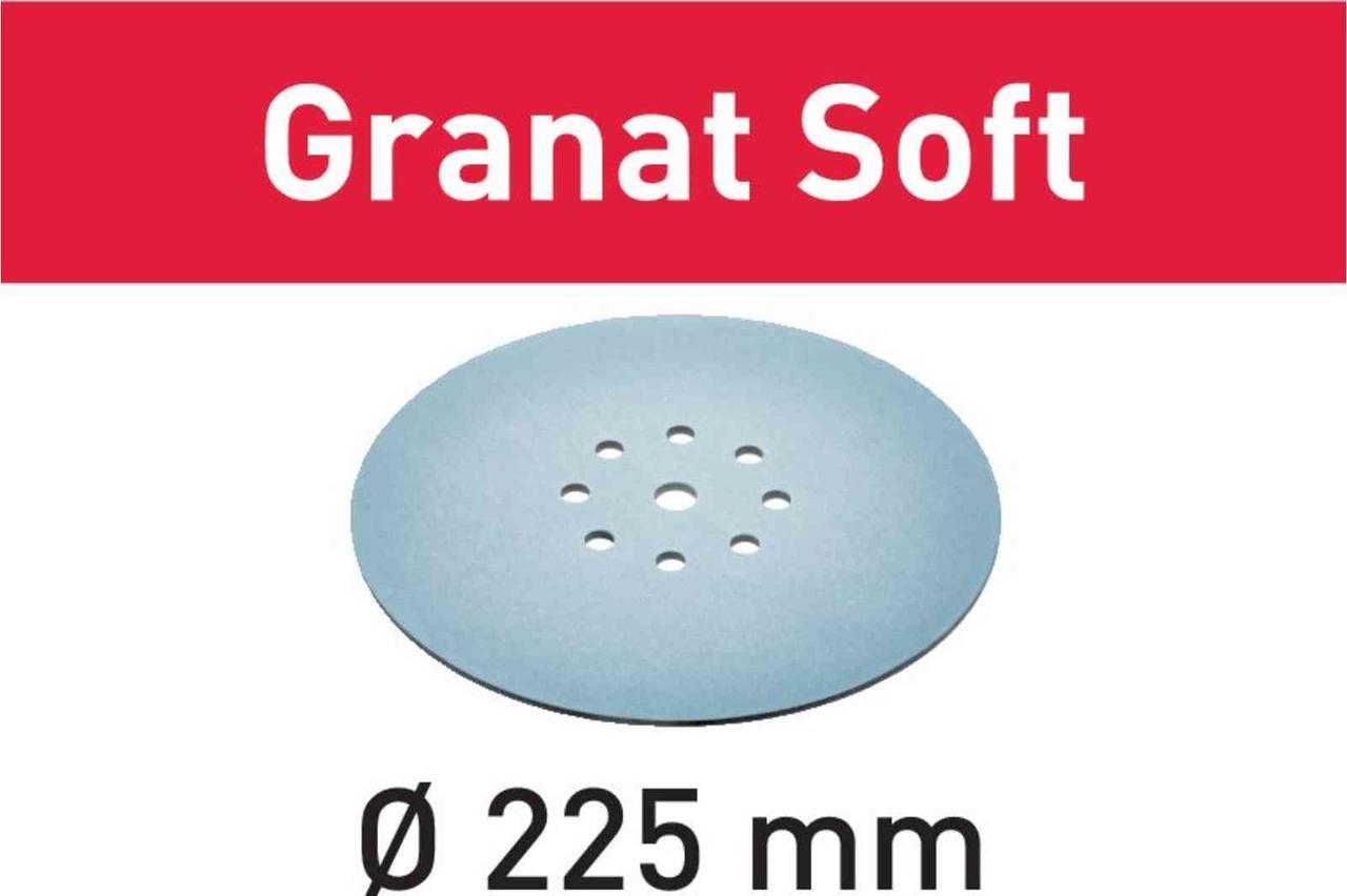 Шлифовальные круги Granat Soft STF D225 P240 GR S/25