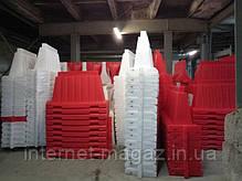 Дорожный барьер  пластиковый 1.5 (м), фото 3