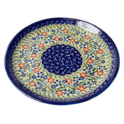Керамическая тарелка десертная, закусочная Ø19 Spring mood, фото 2