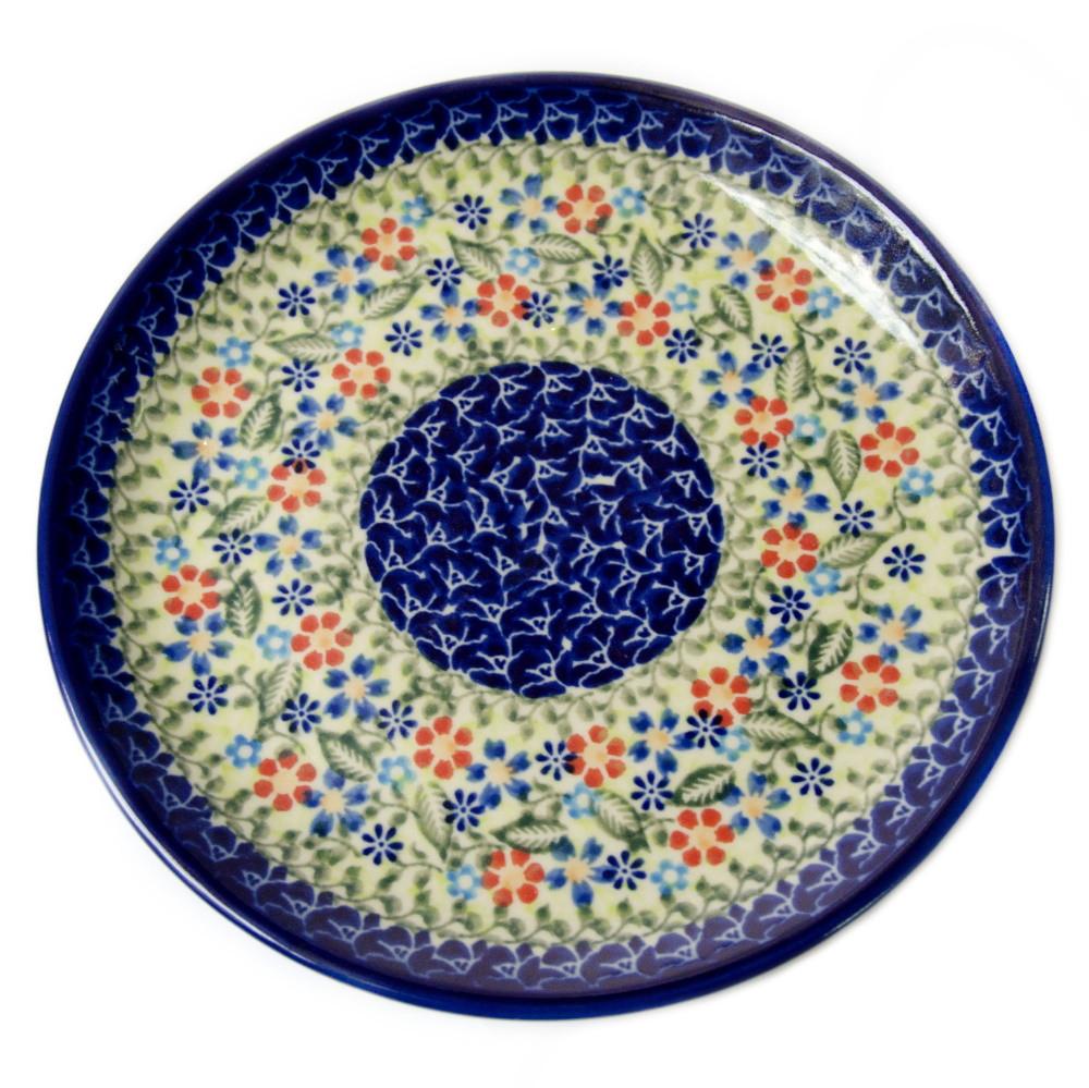 Керамическая тарелка десертная, закусочная Ø19 Spring mood