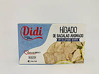 Печень трески Didi, 100 г Испания