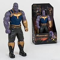 Фигурка супер героя Танос | Tanos (32см) (Марвел / Avengers)  с подвижными конечностями scn